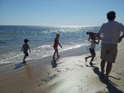 Beach Holiday Fun